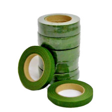Green Floral Stem Tape - Choose amount required