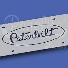 SS Peterbilt Logo Plate