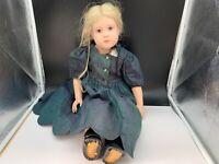 Sigikid Sabine Esche Künstlerpuppe Vinyl Puppe 61 cm. Top Zustand