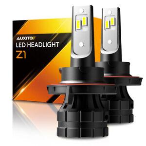 AUXITO H13 9008 LED Headlight Bulb High Low Combo Beam White Light Canbus 6000K