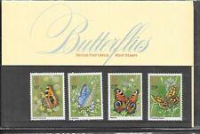 GB 1981 Presentation Pack 126. Butterflies.