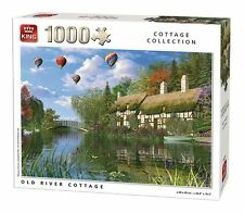 Old River Cottage 1000 piece Jigsaw Puzzle Country Scene by King