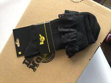 Dr Martens Ankle Socks Black Lace Medium