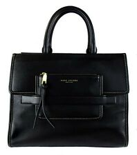 "MARC Marc Jacobs ""MADISON"" Black Leather N/S Tote Bag Msrp $595.00"