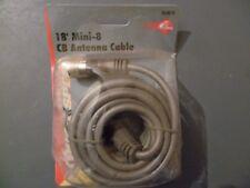 TruckSpec 18' Mini-8 CB Antenna Cable TS-8X18 gray