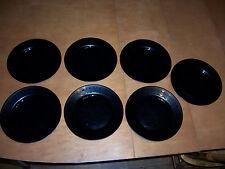 "New listing Set of 7 Arcoroc Yucatan Aztec 10 3/4"" Dinner Plates Used"