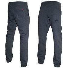 Mens Nike Fleece Joggers Trousers Jogging Pant Tracksuit Bottoms Charcoad XL