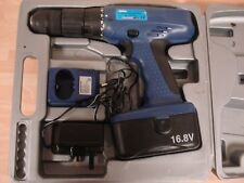 Hilka pro - craft cordless 16,8 v Hammer Drill With Battery & charger Cased