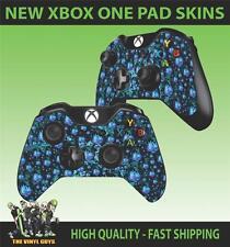Mando Para Xbox One Pad pegatina Psicodélico HOJA DE MARIHUANA RASTA Trippy