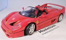 Ferrari F50  von Maisto im Maßstab 1:18  Modellauto Cabrio