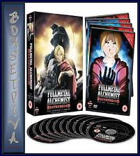 FULLMETAL ALCHEMIST BROTHERHOOD - COMPLETE SERIES COLLECTION  *BRAND NEW DVD*