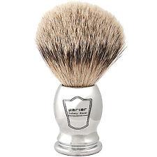 Chrome Handle Silvertip Badger Shaving Brush