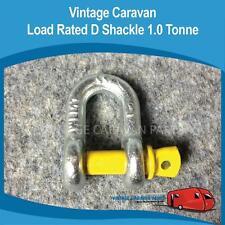 Caravan LOAD RATED D SHACKLE 1.0 TONNE Trailer Vintage Viscount, Franklin CB0115