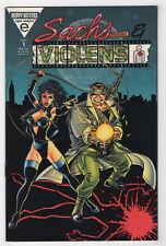 Sachs & Violens 1 (Nov 1993 Marvel [Epic]) {Embossed} Peter David George Perez X
