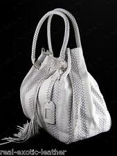 Genuine Cobra Snakeskin Tassel Bag Large ### NEW ###