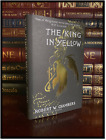 The King In Yellow by Robert W. Chambers Brand New Deluxe Hardback Gift Edition