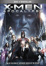 X-Men: Apocalypse (DVD, 2016) FREE SHIPPING