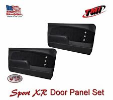 1967 -68 Mustang Sport XR Molded Door Panel Set - Custom Made by TMI in the US
