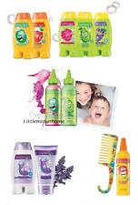 AVON NATURALS KIDS shampoo conditioner bubble bath lotion detangling spray comb