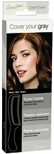 Cover Your Gray Color Comb, Black 1 ea (Pack of 2)