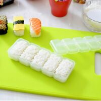 Japan Nigiri Sushi Maker Mold Rice Ball 5 Rolls Non Stick Press Bento Tools