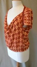 Dries van Noten Clay Patterned Knit Top Size Medium