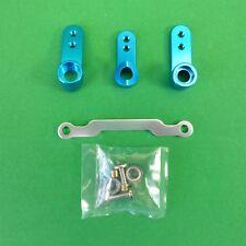 Blue alloy Servo Saver Kit for Colt 1:10 RC cars & truck suits many models