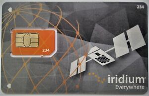 Iridium Satellite SIM card - 100 Minutes, 30 day validity - Global coverage