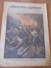 DOMENICA del CORRIERE 51/1925 Incidente in miniera, Carmagnola, De Pinedo