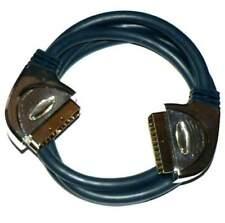 Schwaiger Kabel Scart von Verbindung mit robust Steckverbinder Metall SCA252