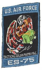 USAF Air Force Patch:   ES-75 Tactical Color Photo Facility