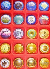 20 CAPSULES de CHAMPAGNE FRANCE REIMS toutes différentes VIN Vigne MUSELET Lot 8