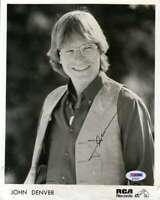 John Denver Psa Dna Coa Signed 8x10 Photo Autograph