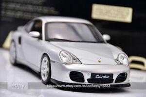 Autoart 1:18 Carrera 911 996 TURBO Porsche Silver