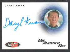 JAMES BOND 2013 AUTOGRAPHS & RELICS AUTOGRAPH CARD #A232 DARYL KWAN