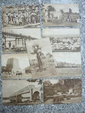 LAGOS NIGERIA A fascinating Cache of NINE 1920s images on Raphael Tuck Vintage