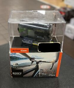 NEW Sony AS30V High Definition POV Action Video Camera HDR-AS30V w/ accessory