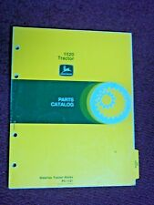 Original John Deere 1520 Tractor Parts Catalog Manual Pc-1121 1977
