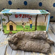 Vtg Fake Dog Poop House Key Cover/Yard Diversion Safe/Secret Stash Gag Gift Joke