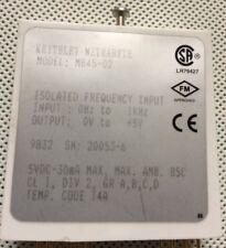 Keithley metrabyte MB45-02 0-1 kHz Módulo de acondicionamiento de señal de entrada de frecuencia
