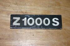Le logo, emblème, pages couvercle, Kawasaki z1000s, z1-r, z1r, kzt00d