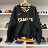 Vintage Pittsburgh Steelers Reebok Pullover Size XL NFL Football 90s Rare