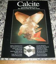 extraLapis English No. 4 Calcite The Mineral With The Most Forms 2003 Crystals