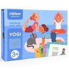 Mideer Enfants Puzzles & Jeux Yogi Yoga Cartes Amusant Activité Jeu