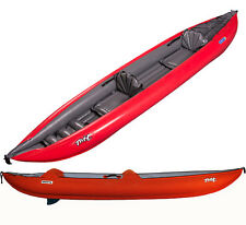 New Innova Double Twist II LN 3PSI Inflatable Tandem Kayak for 1-2 Paddlers -RED