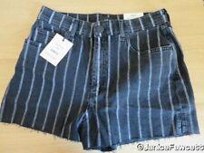 River Island High Waisted Shorts - Black - Size 12 - BNWT - RRP £44