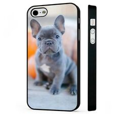 Cute Puppy French Bulldog BLACK PHONE CASE COVER fits iPHONE