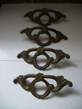 Set of 4 Vintage Metal Dresser Pulls - 3