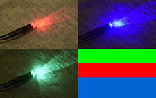 U.S. Seller 5pcs Slow RGB Flashing 5mm Pre Wired LED 5v - 13V DC