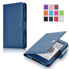 Exact Pro【PU Leather】Folio Case Cover For Amazon Kindle Voyage 2014 NAVY Blue
